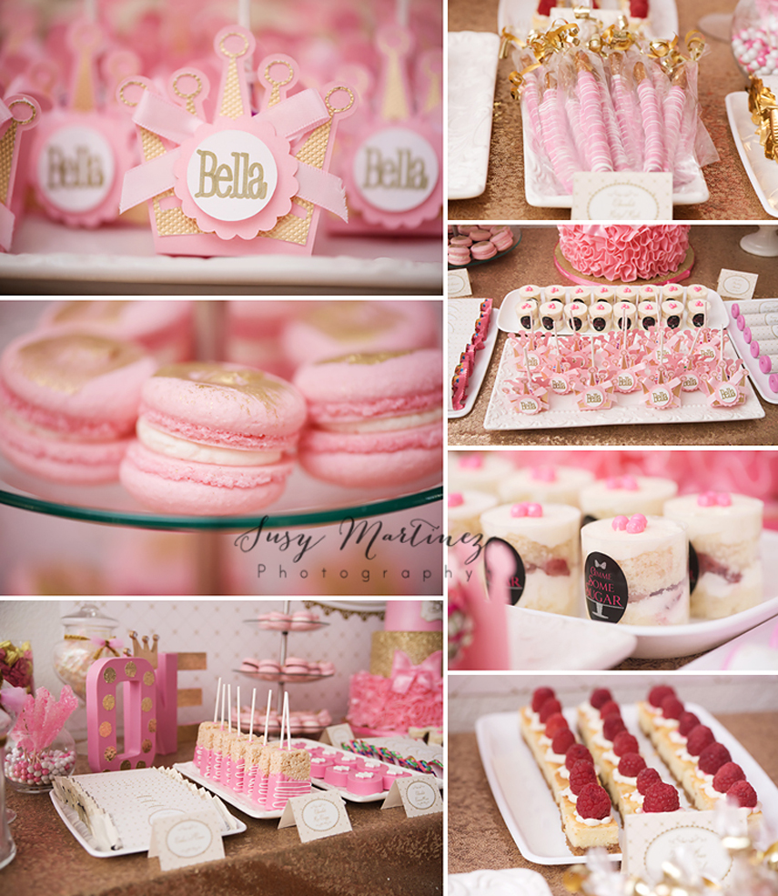 I Am One Pink And Gold Birthday Party Decorations One High: How To Throw A Gorgeous Pink & Gold Birthday Party!