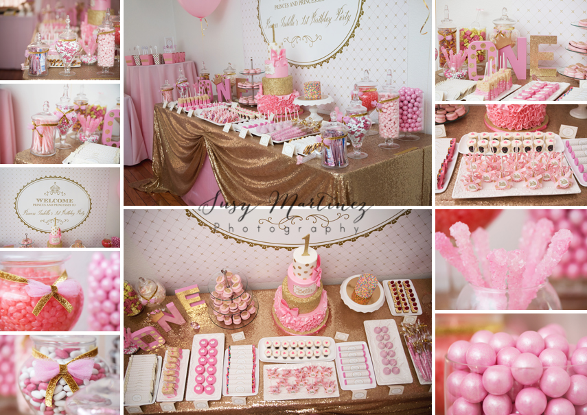 How To Throw A Gorgeous Pink Gold Birthday Party Las Vegas