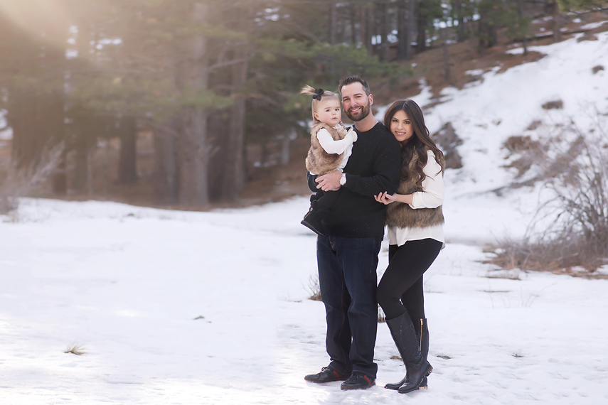 Snow family session susy martinez photography